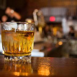 Cocktail at the New Sheridan Historic Bar