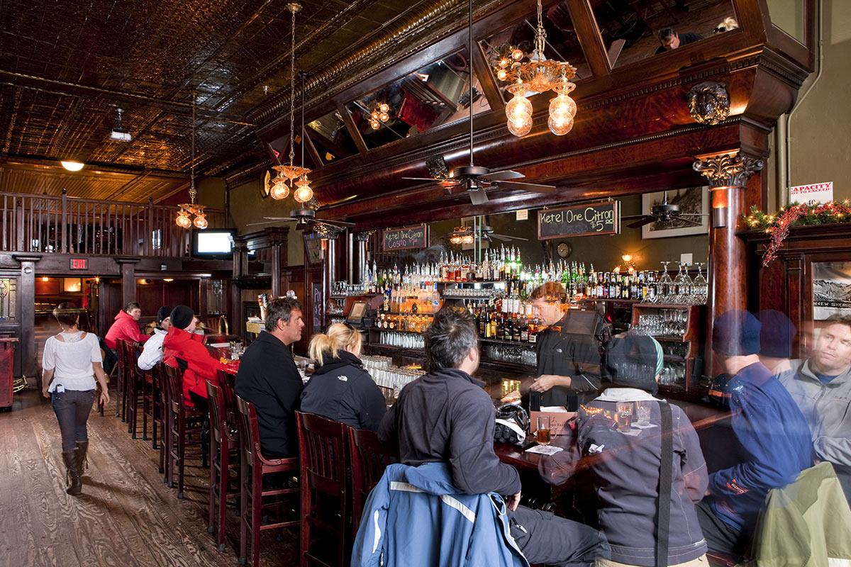 Historic Bar New Sheridan Hotel Telluride