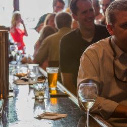 Lookin-down-the-bar historic New Sheridan