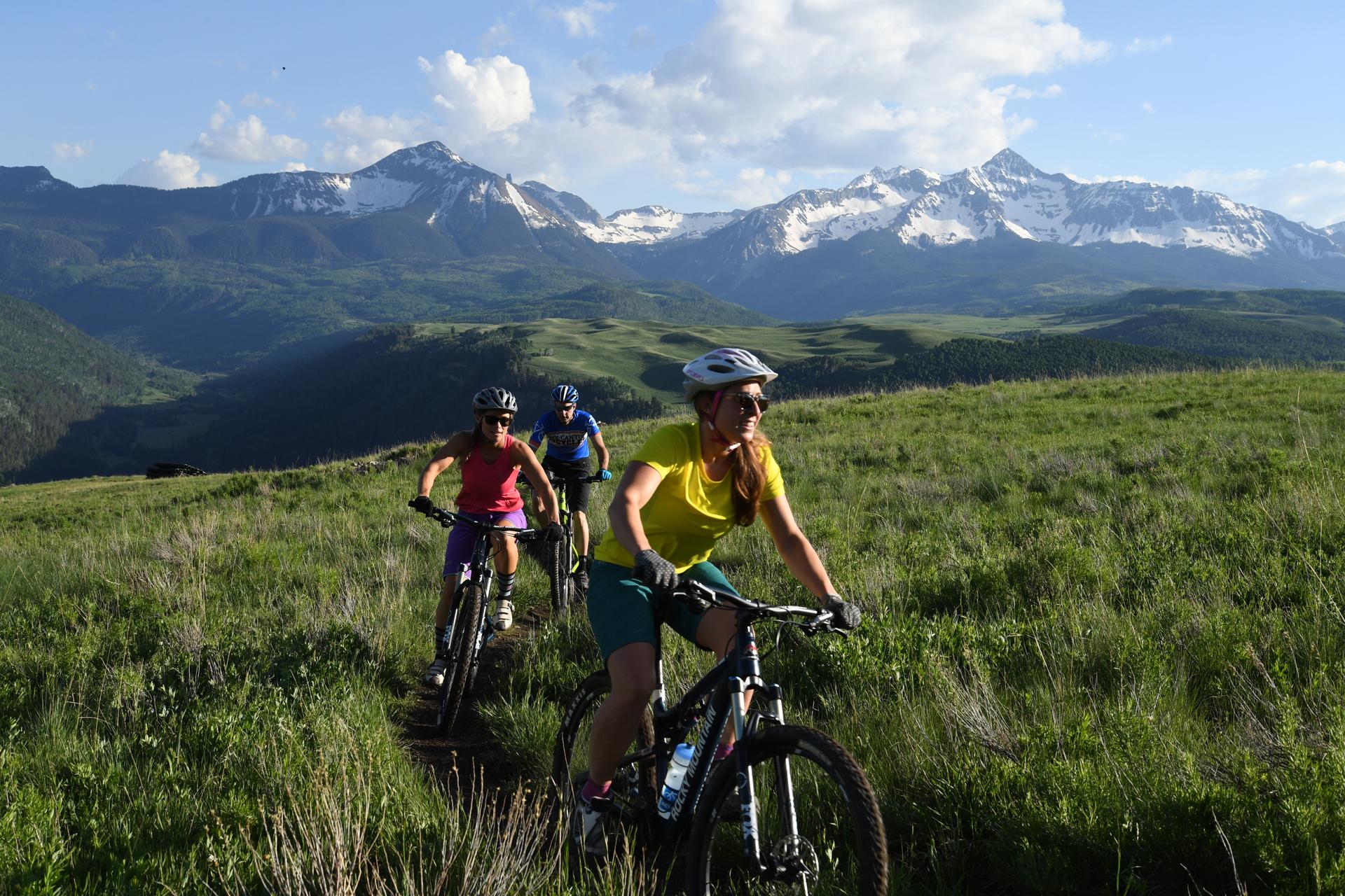 telluride mountain biking summer activites