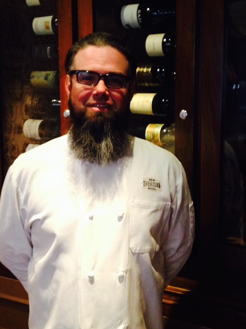 Chef Brian Batten of the Chop House Restaurant at the New Sheridan Hotel in Telluride