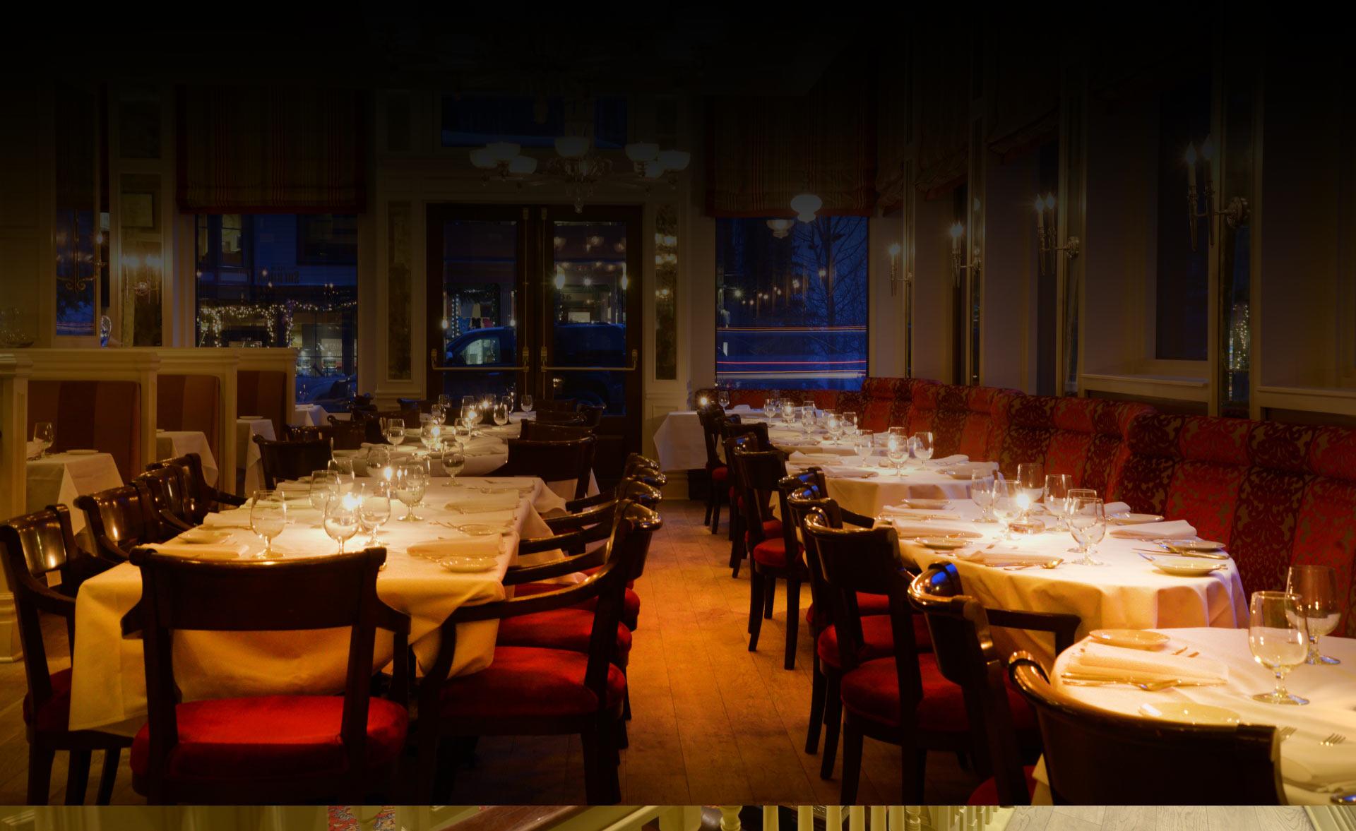 Chop House Restaurant Dining Telluride Colorado New