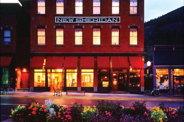 New Sheridan Hotel exterior summer