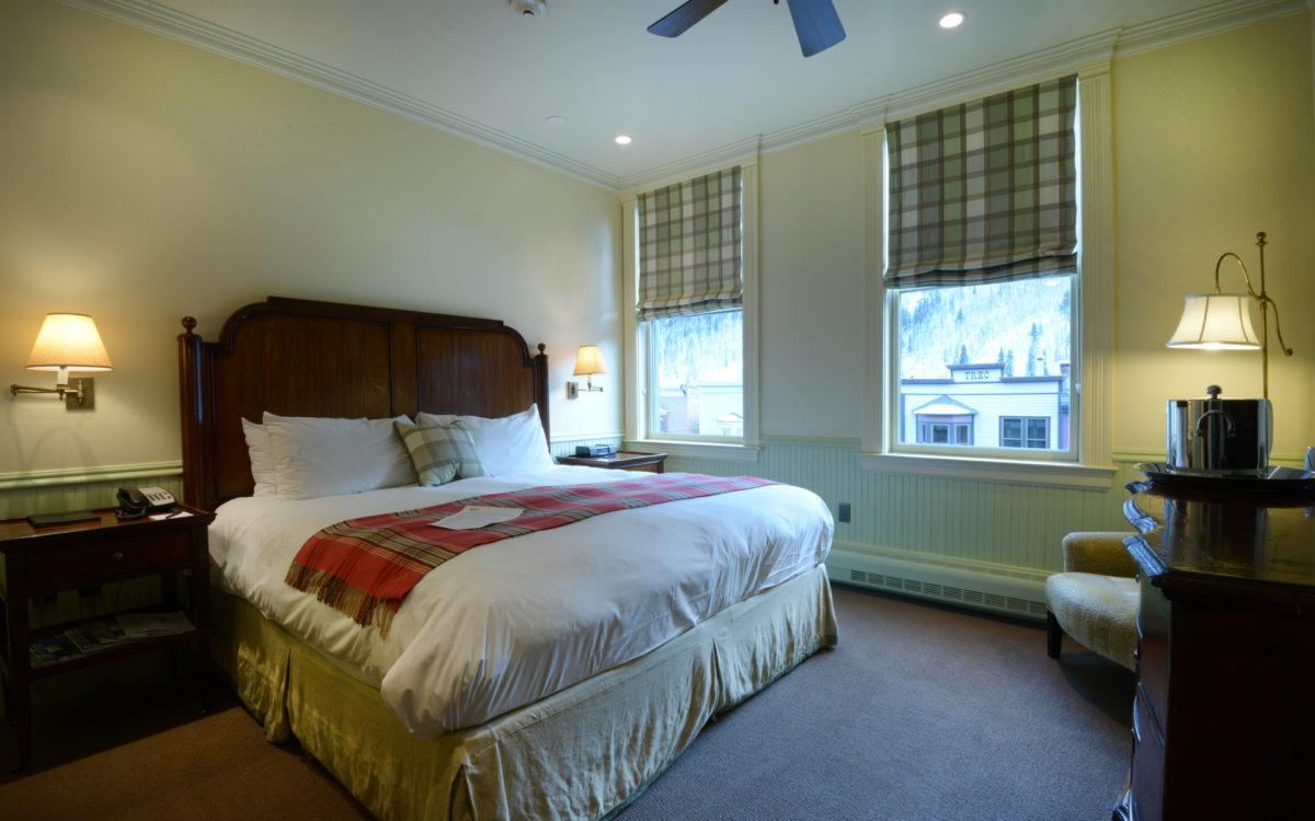 New Sheridan Hotel Room Detail