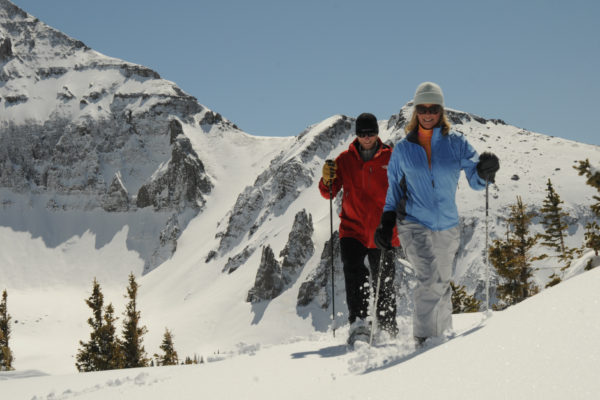 Telluride snow shoeing winter activities