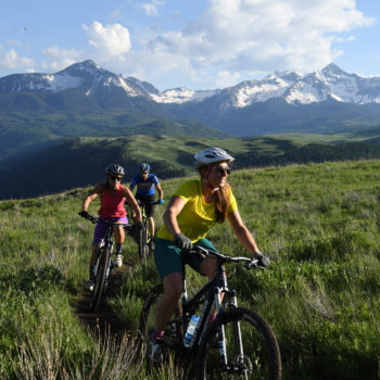 telluride mountain biking summer activites