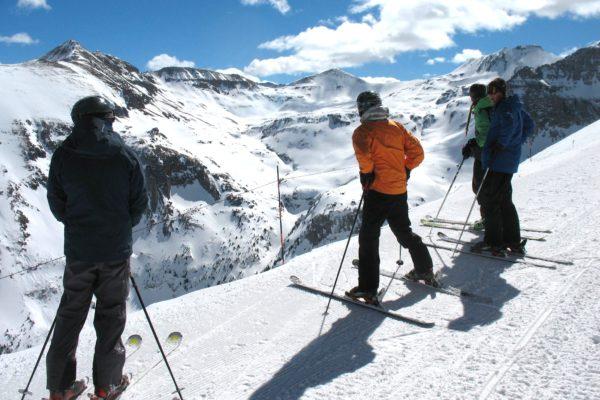 Telluride downhill skiing