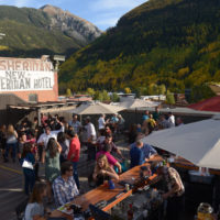 MEDIA - The Roof rooftop bar at the New Sheridan Hotel in Telluride
